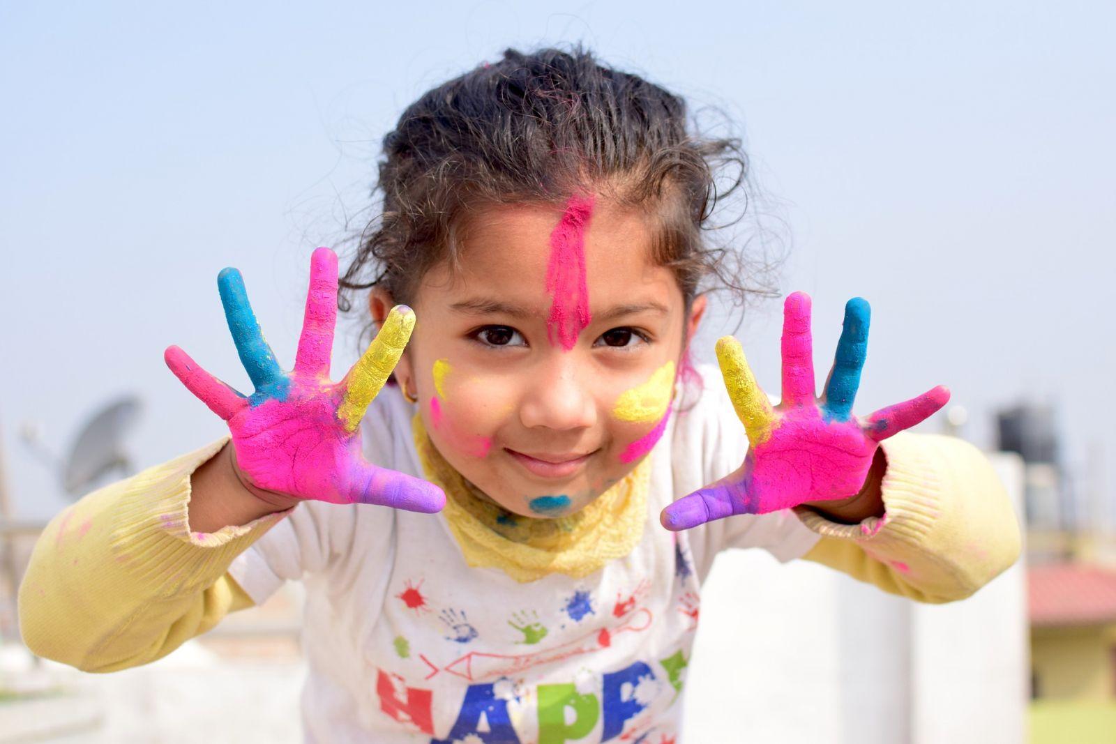 maľovanie s deťmi