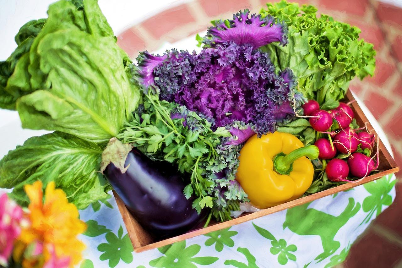 Pestrosť zeleniny