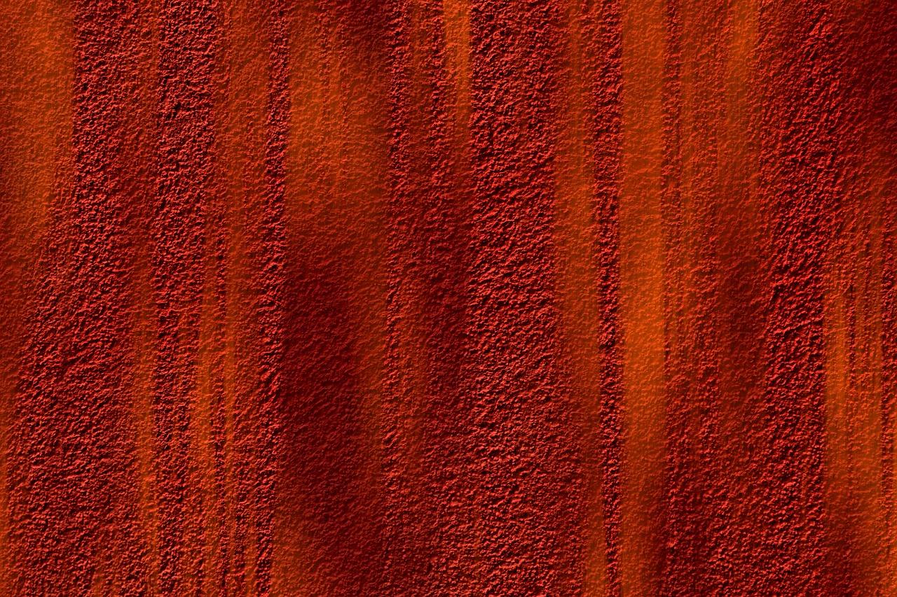 červená stena