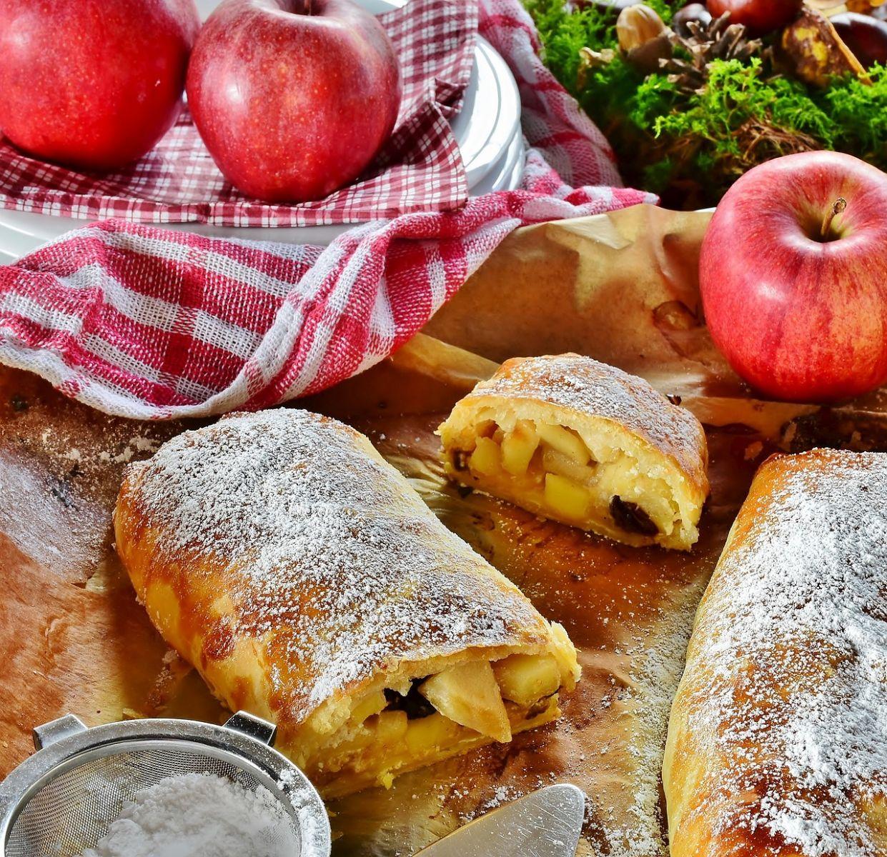 jablková štrúdľa
